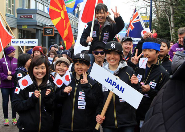 Whistler Cup 2014 日本チーム派遣速報